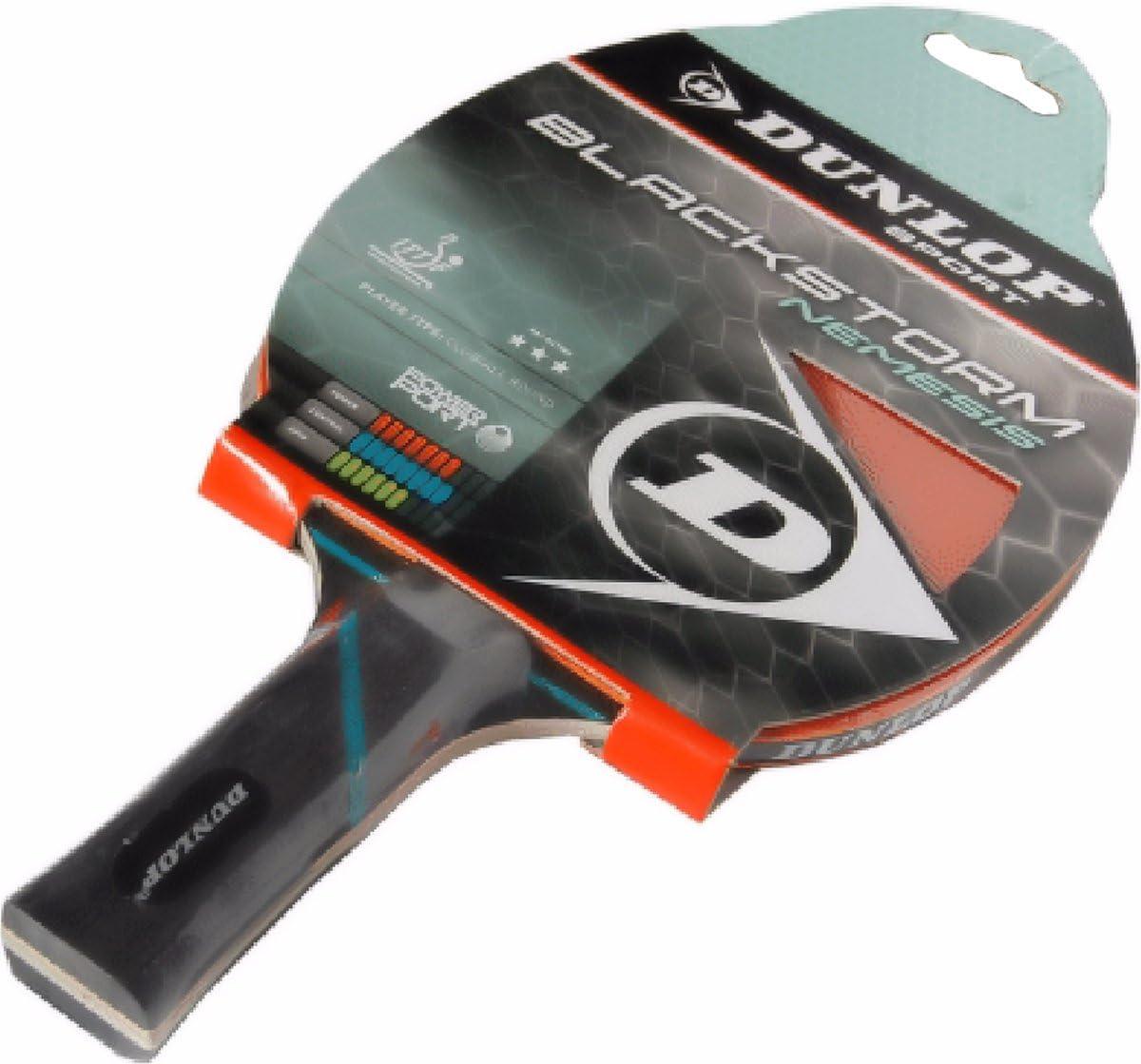 Amazon.com: Dunlop Blackstorm Nemesis Bate de tenis de mesa ...