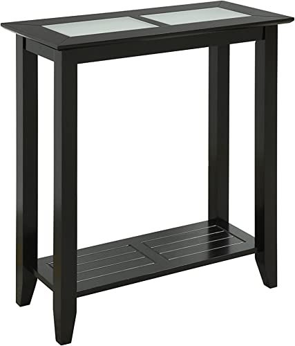 Convenience Concepts Carmel Hall Table, Black