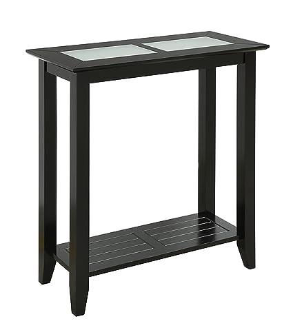 Superbe Convenience Concepts Carmel Hall Table, Black