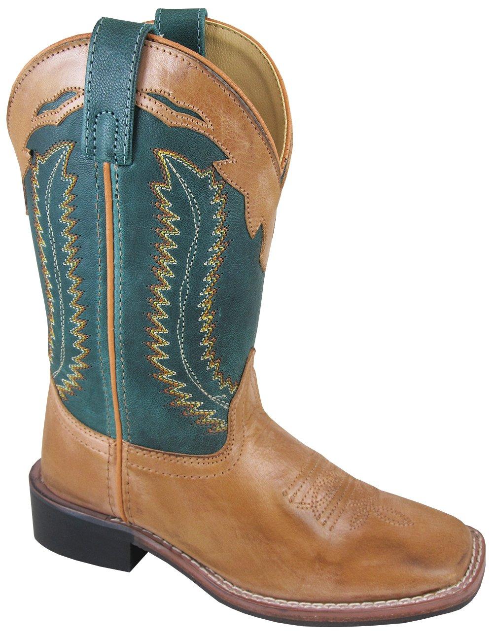 Smoky Frank Children Cowboy Boot, Tan, 13M