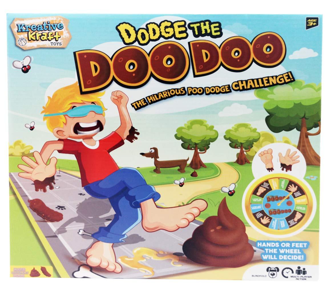 Kreativekraft Dodge The Doo Doo Juego De Mesa Para Ninos Y Adultos