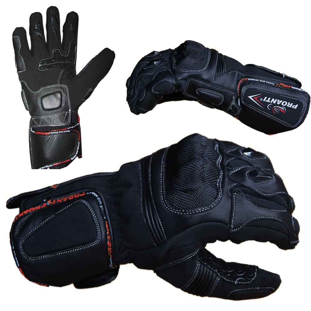 Winter Motorradhandschuhe Winter Racing Motorrad Handschuhe PROANTI Gr/ö/ßen S-XXL