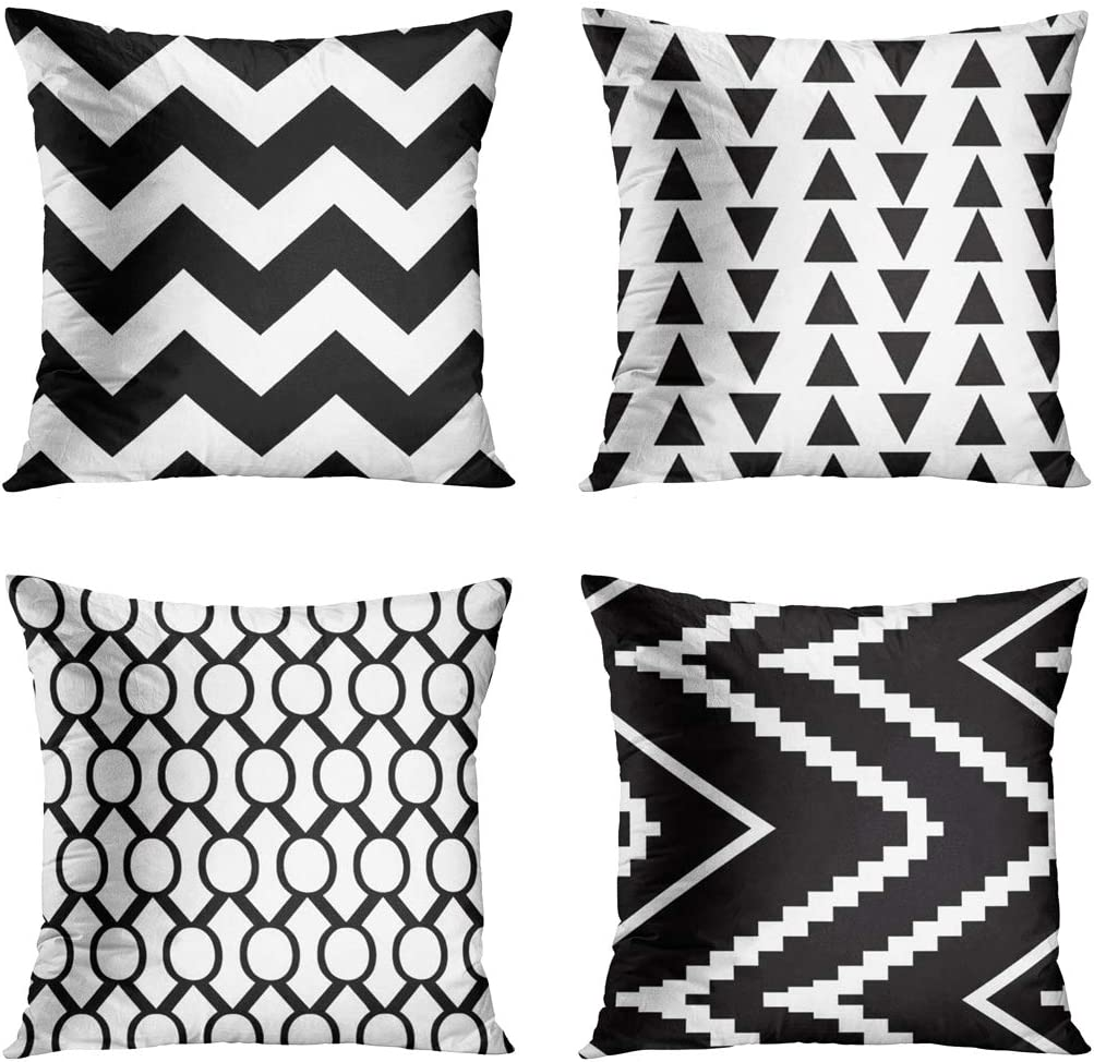 18/'/' Lattice Stripe Short Velvet Throw Pillow Case Sofa Car Decor Cushion Cover