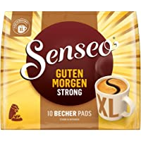 Senseo Pads Guten Morgen Strong XL, 50 Kaffeepads, 5er Pack, 5 x 10 Becherpads