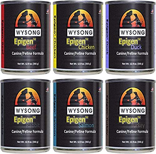 Wysong Epigen Variety Pack Canine Feline Canned Formula