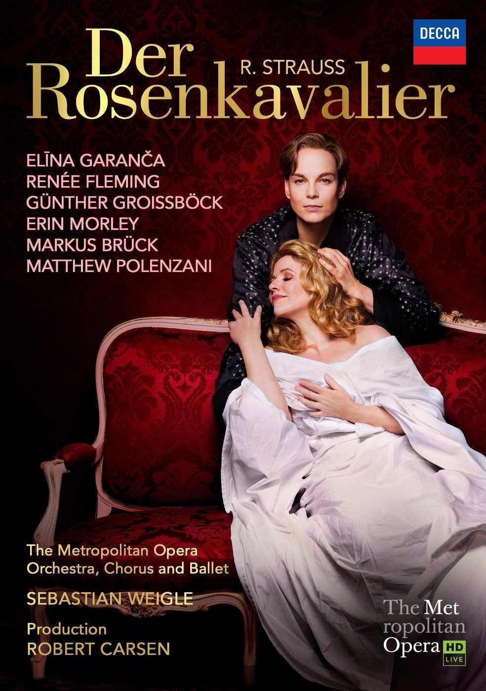 Blu-ray : Renée Fleming - Strauss: Der Rosenkavalier (Blu-ray)