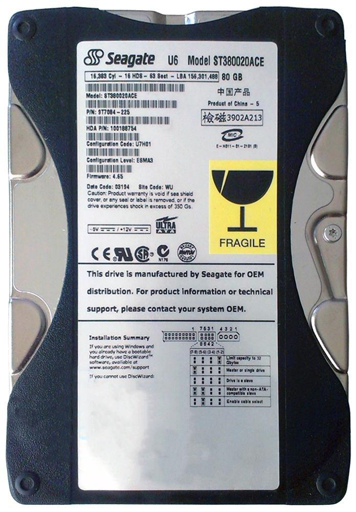 Seagate Barracuda 250GB 7200 RPM IDE 8MB Hard Drive Renewed