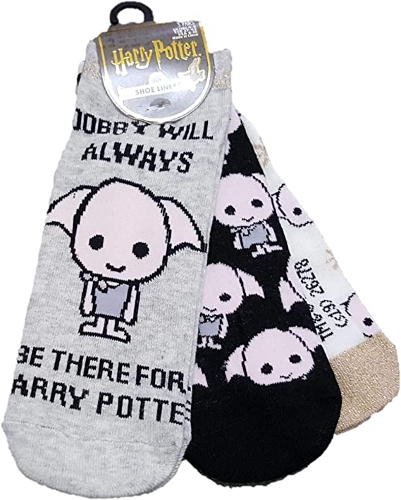 Licensed_Primark Harry Potter Dobby 3 Pack de zapatos y calcetines ...