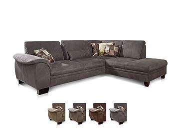 Cavadore Ecksofa Hussum Mit Ottomane Rechts Grosse Couch Mit