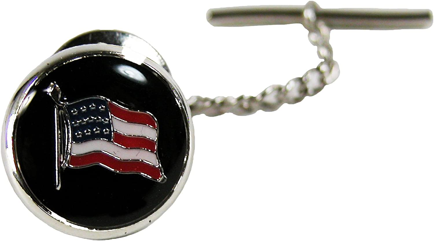 Competition Inc. Men's American Flag Tie Tac