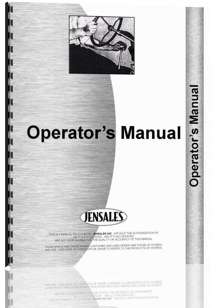 Case 580K Tractor Loader Backhoe Operators Manual