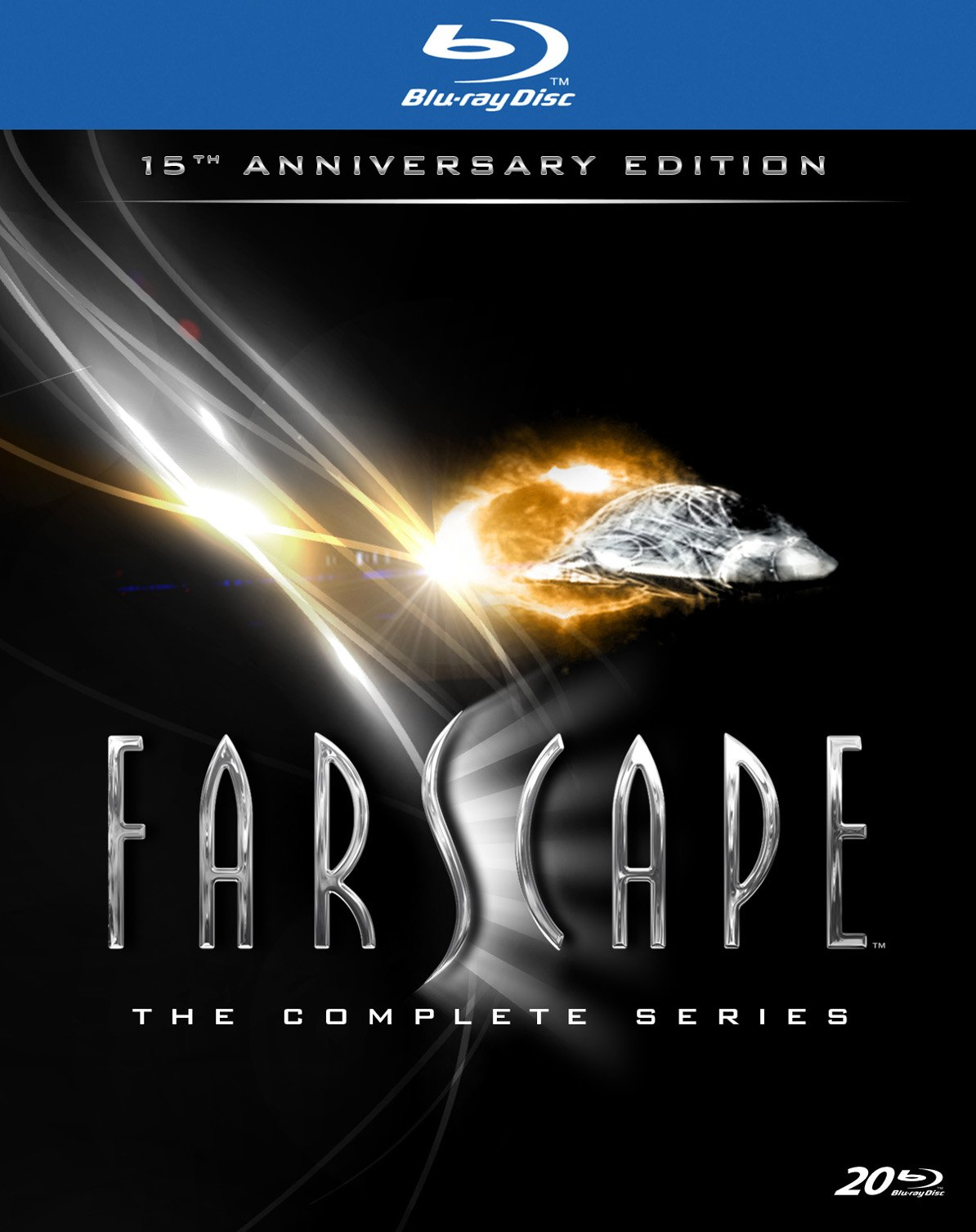 Farscape: The Complete Series (15th Anniversary Edition) [Blu-ray] by New Video Group