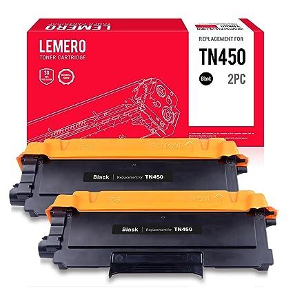 lemero TN450 TN420 Compatible Cartuchos de tóner (negro) para ...