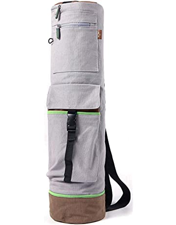 b0fb473431b5 Heathyoga Yoga Mat Bag Full-Zip Exercise Yoga Mat Carry Bag -  Mufti-Functional