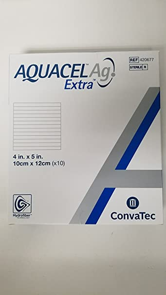 Amazon Com New And Improved Aquacel Ag Extra 4 X 5 Box Of 10