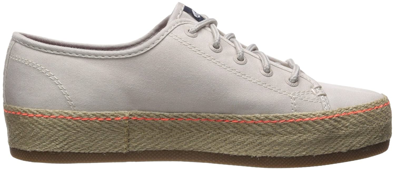 Sperry Top-Sider Women's Sky Sail Jute Wrap Sneaker B071GPJJFF 6.5 B(M) US|Off White