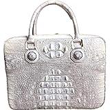 392e28ac1570 新品 ワニ革 クロコダイル 通勤バッグ ビジネスバッグ 本物保証 未使用 最高級本革
