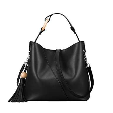 S-ZONE Women s Small Genuine Leather Top-handle Bag Urban Style Shoulder  Bag Ladies 1639058dc