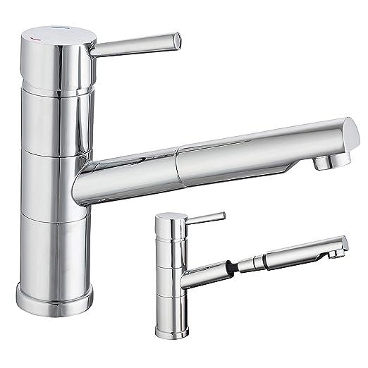 Spültisch Armatur Küchenarmatur Wasserhahn Küche Mischbatterie mit ...