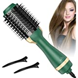 Bongtai Hot Air Brush,Hair Dryer Brush One Step Hair Dryer & Volumizer 3 in 1 Brush Blow Dryer Styler for Rotating…