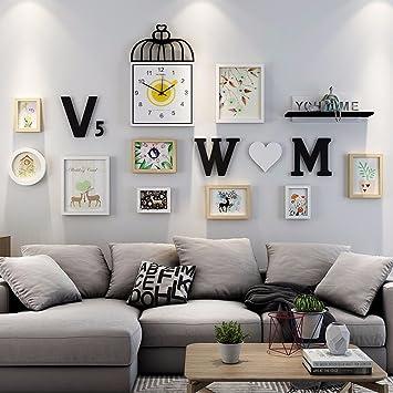 WUXK Das Wohnzimmer ist Foto Wand Sofa Wand Dekoration ...