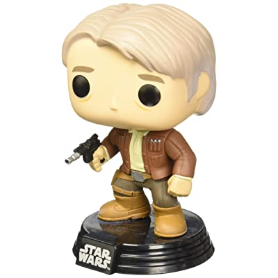 Funko POP Star Wars: Episode 7 - Han Solo Action Figure: Funko Pop! Star Wars:: Toys & Games