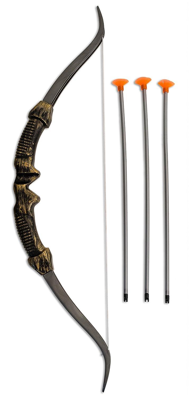 Loftus International Star Power Huntress Games Archer Costume 4pc Bow & Arrow Set Bronze 24 Novelty Item Getting Fit 099996042668