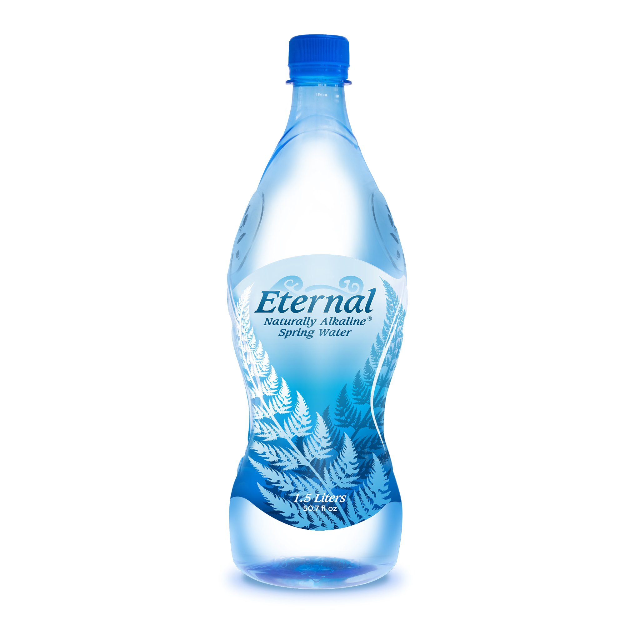 Eternal Water Naturally Alkaline Spring Water, 1.5 Litre, 12 Count