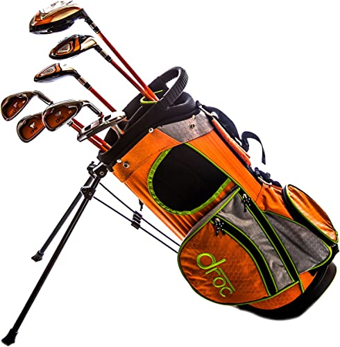 RAM Golf EZ3 Mens Golf Clubs Set with Stand Bag – Graphite Steel Shafts