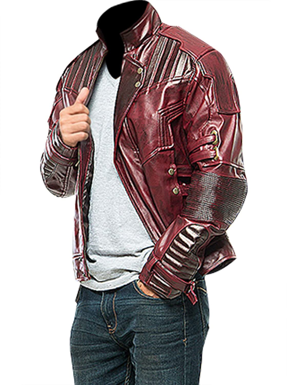 SlimfitJacket Galaxy Star Hero Faux Leather Costume Biker Jacket/Pants