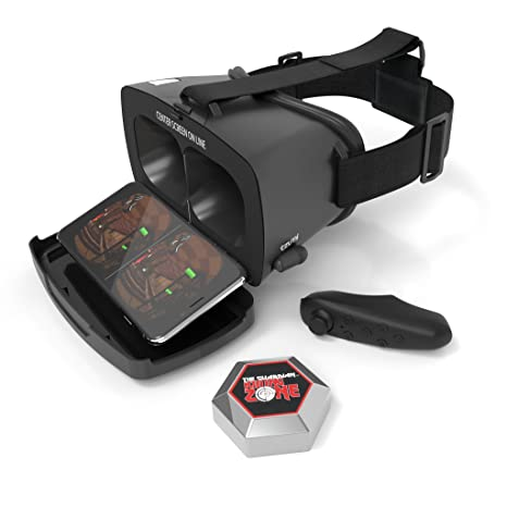 92c05428ad8 Tzumi Dream Vision VR Smartphone Headset – Adult Unisex Bluetooth  Compatible Virtual Reality Headset - Includes