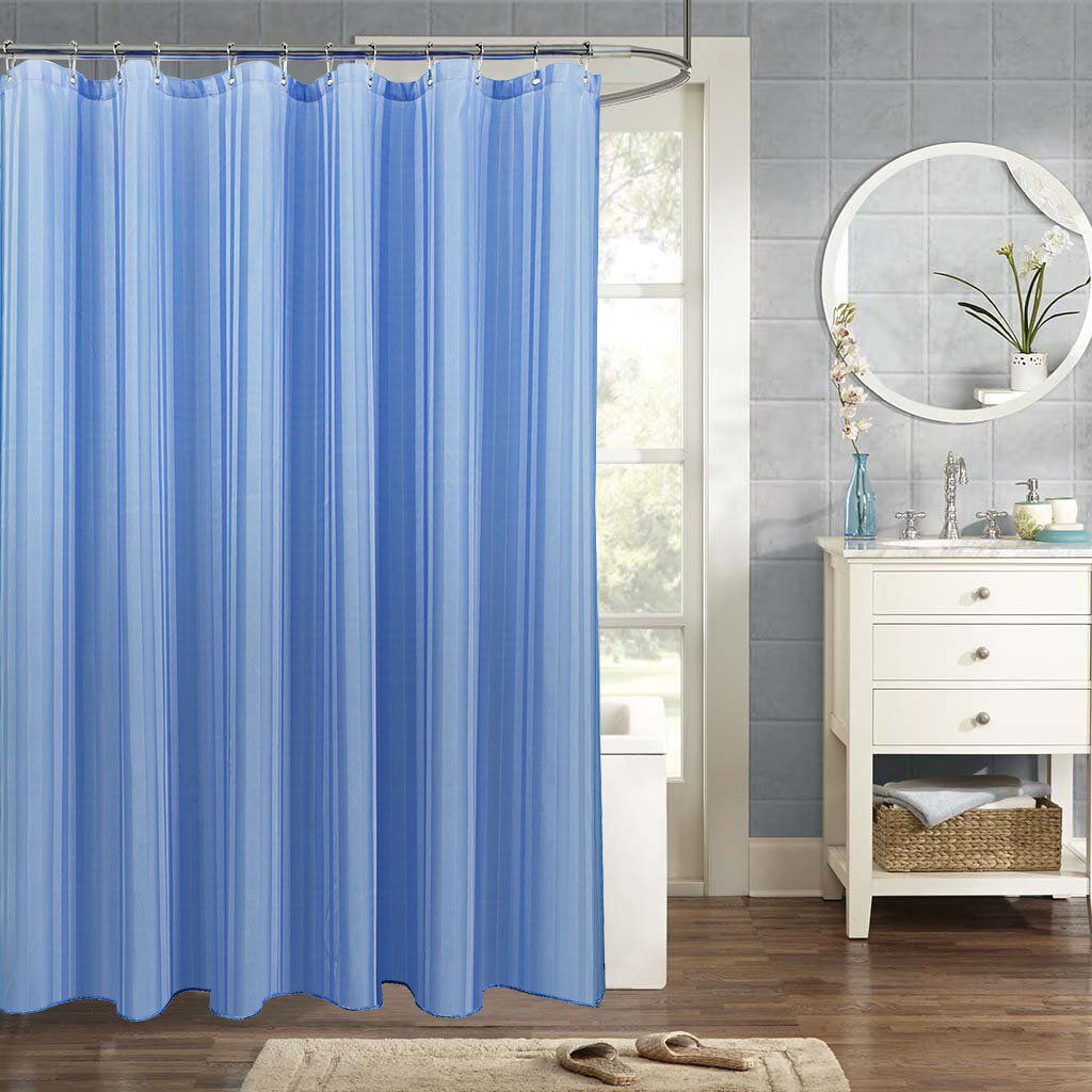 Grace Duet Fabric Shower Curtains Liners Waterproof Stall For BathroomPrinting Bath