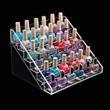 4/5/6 Tier Clear Acrylic Nail Polish Cosmetics Display Stand Rack Organiser (6 Tier)