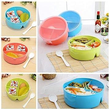 Amazon.com: Cuchara de cerámica china – Portátil redonda ...