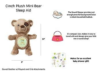 Amazon.com: Cinch by dexbaby Plush Mini - Chupete de dormir ...