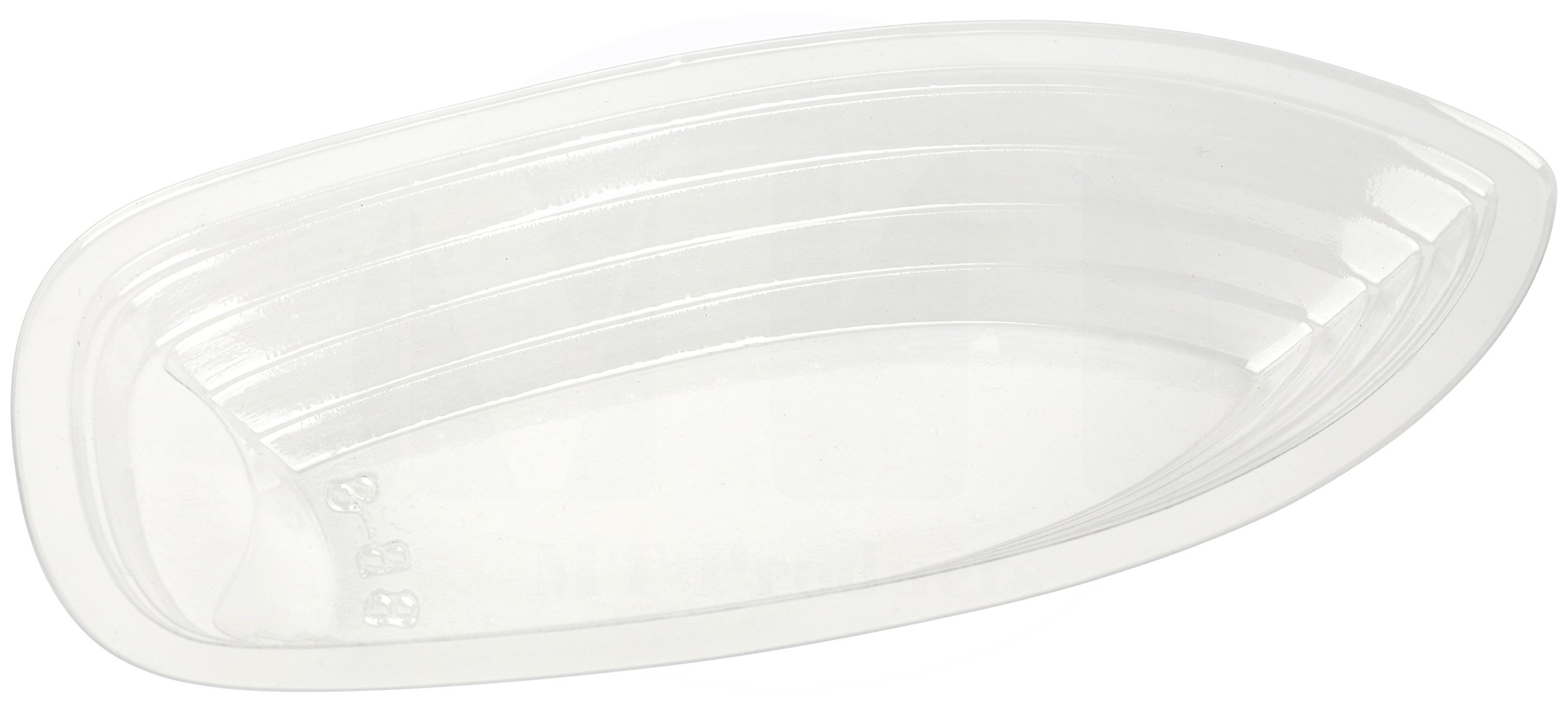 MT Products 12 oz. Clear Plastic Disposable Banana Split Boat (30 Pieces) by MT Products (Image #1)