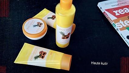 fea6da5b9c Image Unavailable. Image not available for. Colour: Oriflame Pure Nature Tropical  Fruits Facial Kit ...