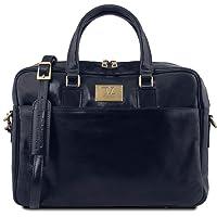 Tuscany Leather Urbino Cartella in pelle porta computer con tasca frontale