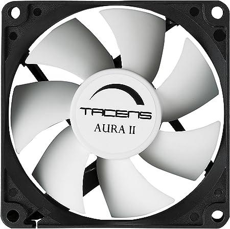 Tacens Aura II - Ventilador para ordenador (12cm, 14Db, Fluxus ...