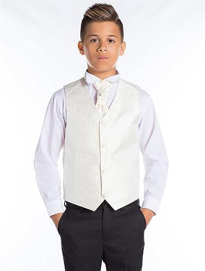 Paisley OF LONDON, De Niño Negro Traje, De Niño Traje de cola, Traje Paje niño, espiral waistcost Set, 12-18 meses-13 años