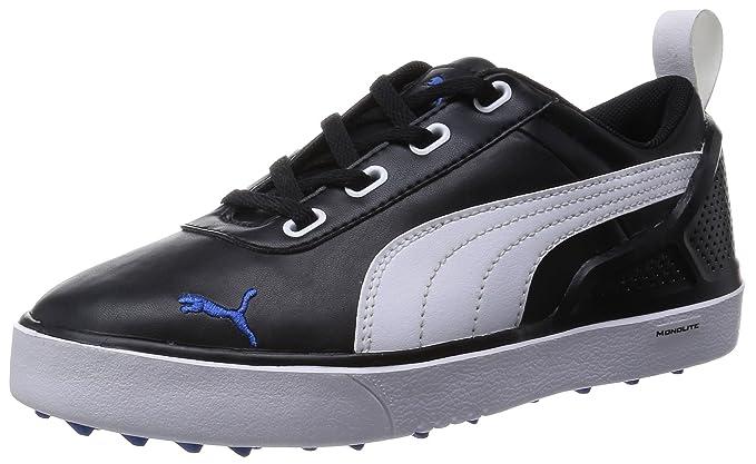 4b2547f73de Junior Monolite Golf Shoes Black-White-Strong Blue SS15 3