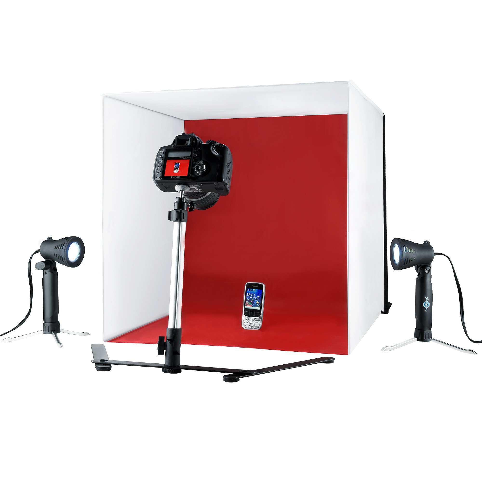 Shutter Starz 3086 Professional Quality Studio Prophotoz Kit Light Cube Product Photo Tent