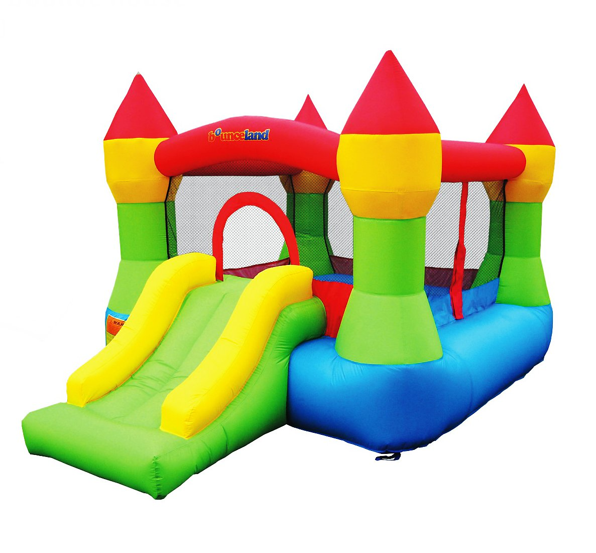 Bounceland Bounce House Castle W/Hoop Inflatable Bouncer by Bounceland