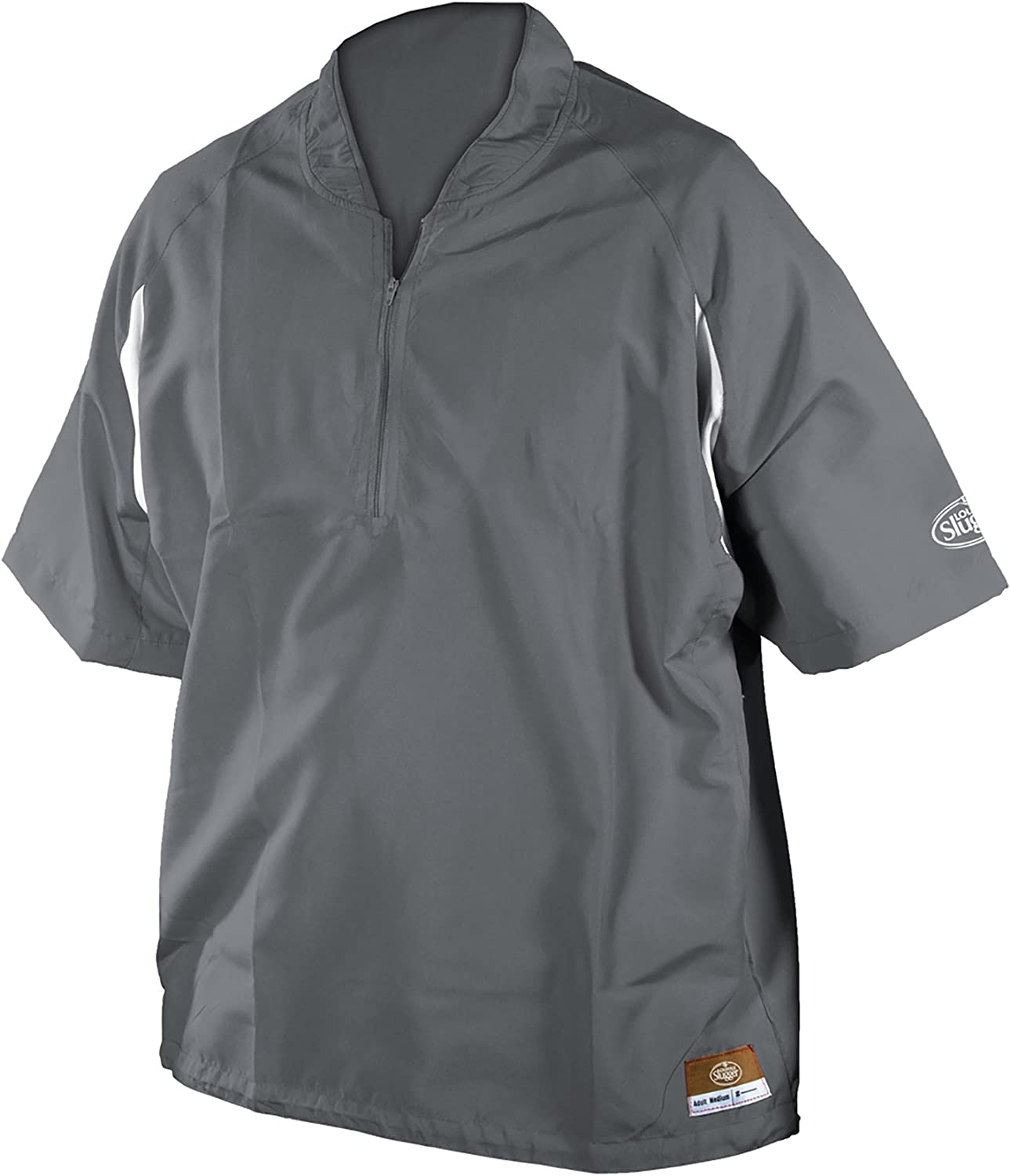 Louisville Slugger Adult Slugger Batting Cage Pull-Over with 1//4 Zip