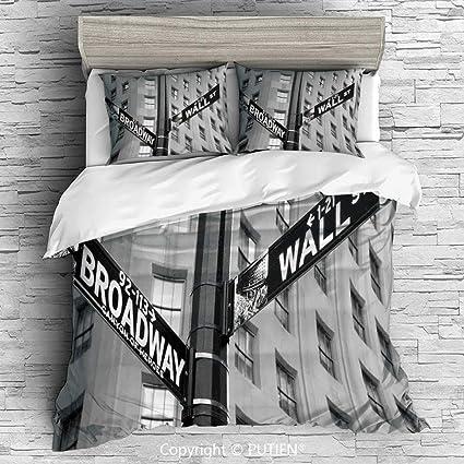 Amazon.com: KING Size Cute 3 Piece Duvet Cover Sets Bedding ...