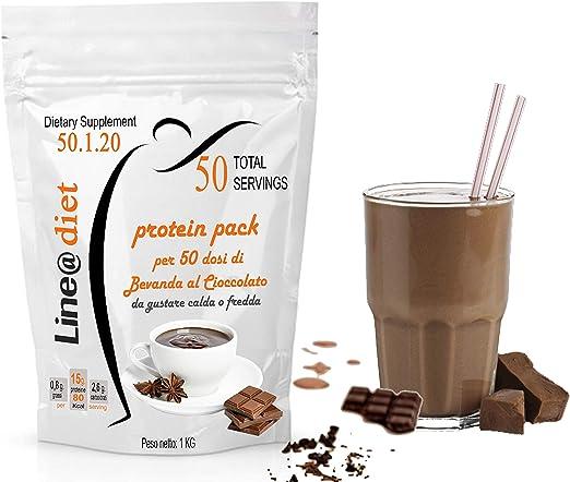 Dieta Proteína Pasta Sustratante adelgazante Shakee Batidos Whey Protein-Shake Line@ 1 kg (50 aperitivos/33 comidas sustitutivas) 80 kcal y casi cero ...