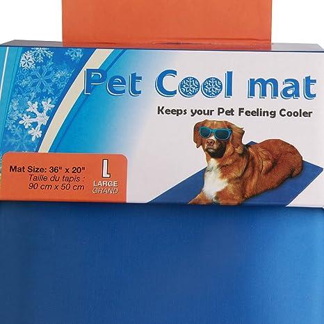 Alfombrilla de refrigeración para mascotas,Animales Nevera y Manta ...