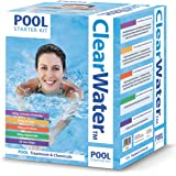 Clearwater Pool Chemicals Kit - White, 500g