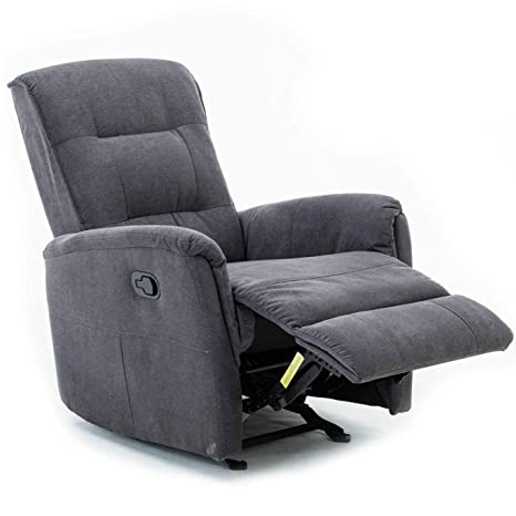 Amazon.com: Mecor - Silla reclinable de tela, reclinable ...