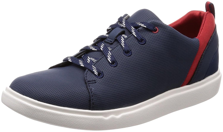 Clarks Step Verve Lo, Sneakers Basses Femme, (Black), 39 EU